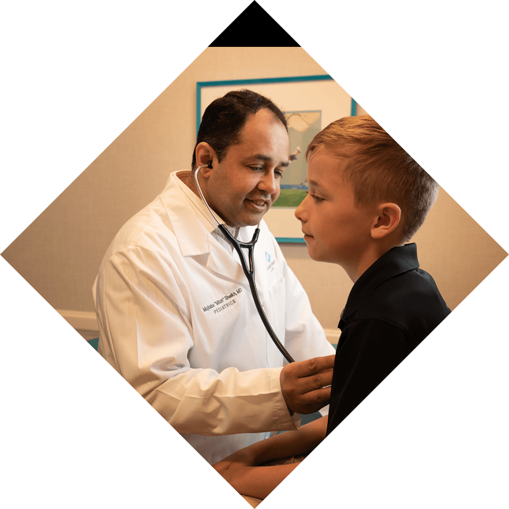Pediatrics scheduling considerations Background Image