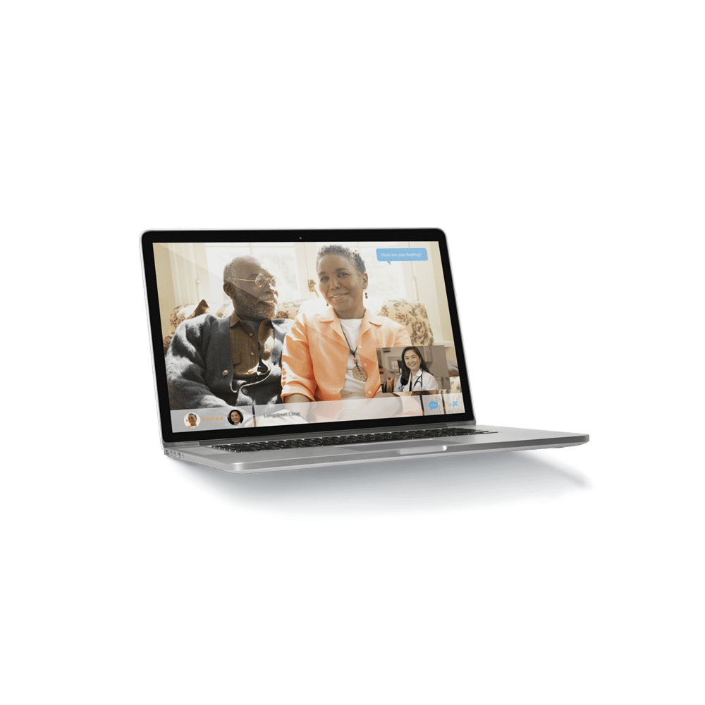 Clinic now offering video visits Background Image